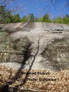 """Rock Climbing Photo: Start of """"Girls Prefer Batteries"""""""