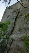 Rock Climbing Photo: The start of the climb. This is right where Plumbl...