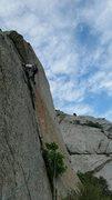 Rock Climbing Photo: lieback action