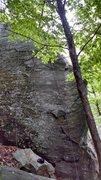 Rock Climbing Photo: shows the start