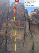 Rock Climbing Photo: CHILDREN SHOULD NOT USE POWER TOOLS 10.A SPORT