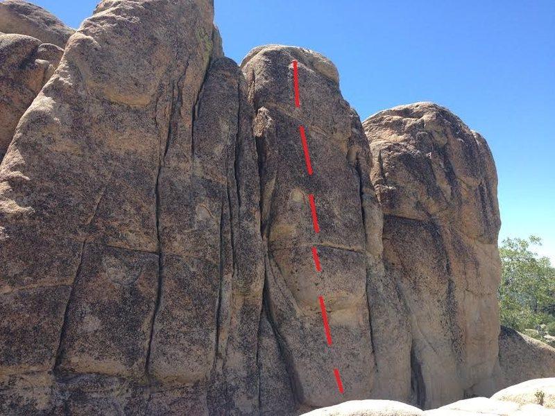 Rock Climbing Photo: children should not use power tools 5.10a sport