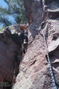 Rock Climbing Photo: Burt, right-hand start