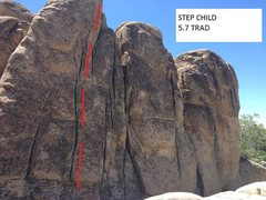 Rock Climbing Photo: STEP CHILD 5.7 TRAD