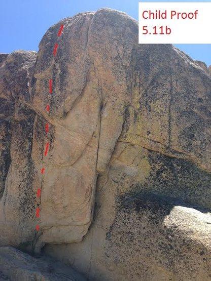 Rock Climbing Photo: child proof 5.11b