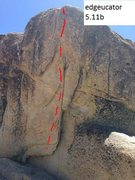 Rock Climbing Photo: edgeucator 5.11b