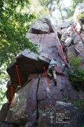 Rock Climbing Photo: As numbered in Swartling & Mayer, 3e