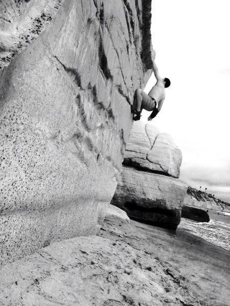 Beach bouldering at Table Tops!!!