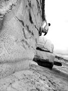 Rock Climbing Photo: Beach bouldering at Table Tops!!!