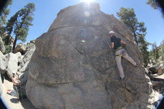 Rock Climbing Photo: The start of Rap Bolters Will be Prosecuted