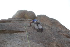 Rock Climbing Photo: The hangers are camouflaged, so this makes them a ...