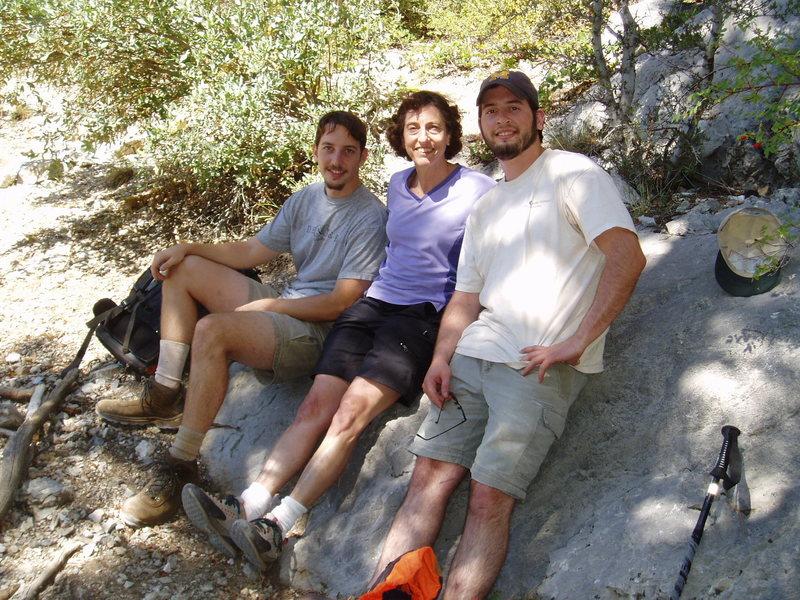 Rock Climbing Photo: Hang'n out at the base