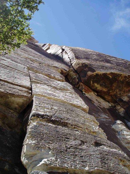 Rock Climbing Photo: Lotta Balls - route START
