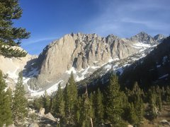 Rock Climbing Photo: Temple Crag, Gayley, and Sill hidden in the upper ...