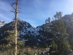 Rock Climbing Photo: The slope leading up to Sam Mack
