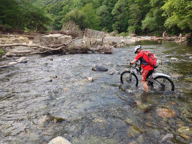 Biking in the Lake District ..