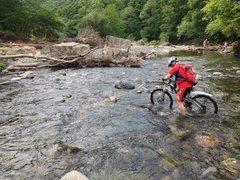 Rock Climbing Photo: Biking in the Lake District ..
