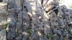 Rock Climbing Photo: Crossing 'I.H.P.P.' on the traverse.