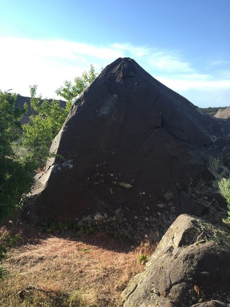 The Pythagorean Boulder