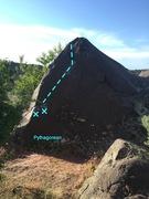 Rock Climbing Photo: Pythagorean