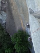 Rock Climbing Photo: Hanging out with some Neighbors on the IA Ledge. P...