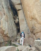 Rock Climbing Photo: Friday the 13th, Vedauwoo