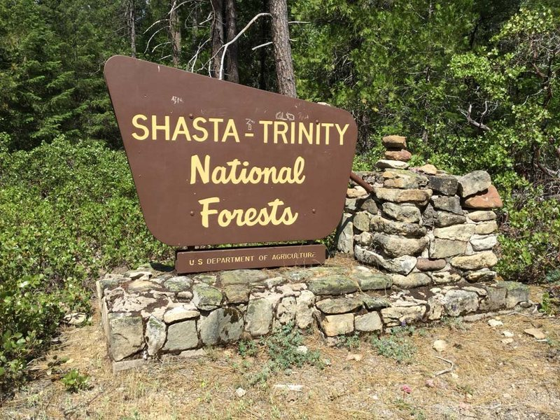 Rock Climbing Photo: Drive 2.8 miles past the Castella, CA, Chevron gas...