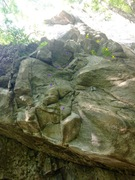 Rock Climbing Photo: This is the third bolt line from the left but not ...