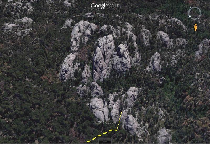 Rock Climbing Photo: Entryway Corridor