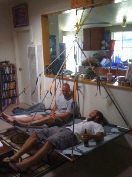 Classic living room Porta-Ledge Bivi!!