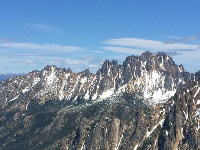 Rock Climbing Photo: Vasliki Ridge, the Wine Spires, and Silver Star Mo...