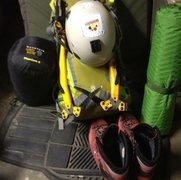 Rock Climbing Photo: Alpine kit!