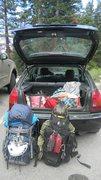 Rock Climbing Photo: Whitney Fast and Light Kit!!