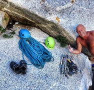 Rock Climbing Photo: Alpine rope nest!!!