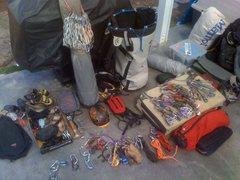 Rock Climbing Photo: El cap Big Wall kit!!!