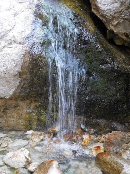 Waterfall near the London Wall, Williamson Rock