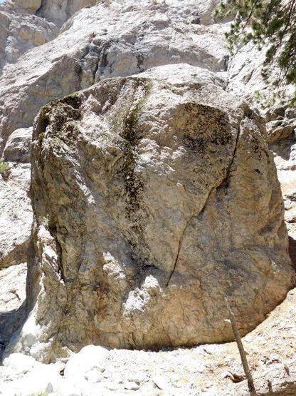 Rock Climbing Photo: Mushroom Boulder, Williamson Rock