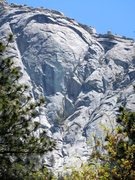 Rock Climbing Photo: West Face Bulge, Tahquitz Rock