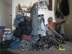 Rock Climbing Photo: Bobathan and The Solo Zodiac Kit!!