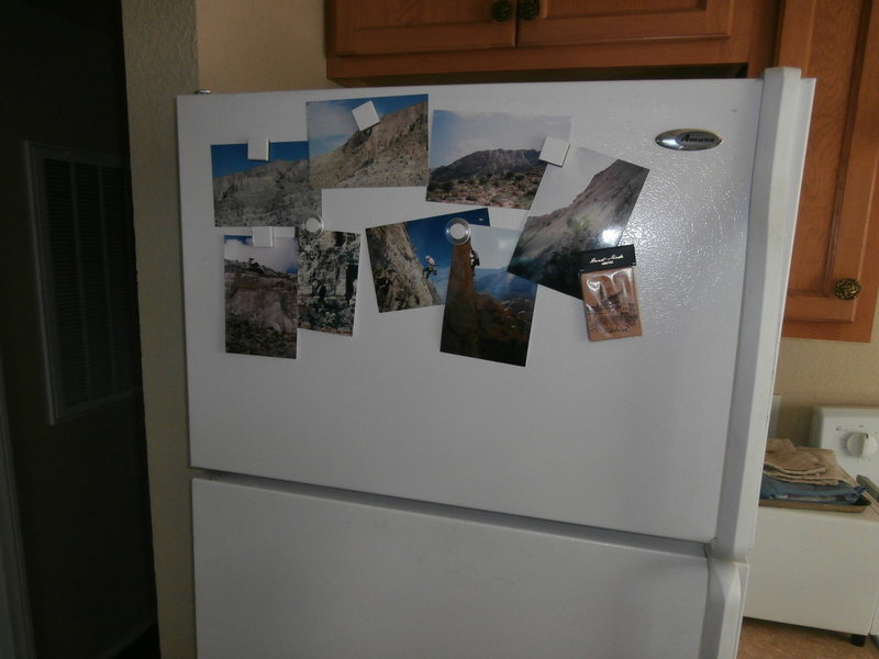 Rock Climbing Photo: Refrigerator Pin Ups