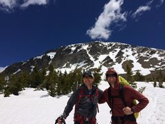 Psyched after a great day exploring on South Arapahoe!