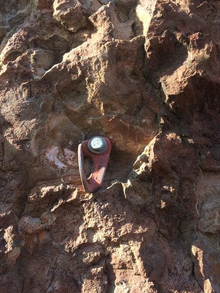 Lead bolt, looks okay to me!