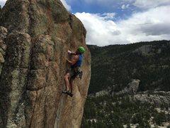 Rock Climbing Photo: Cosmic Crag