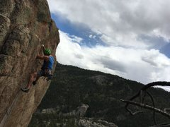 Rock Climbing Photo: Cosmic Crag and Scenery