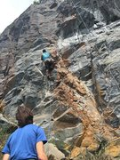 Rock Climbing Photo: Lots of new lines at this years event.  This one i...