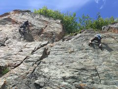 Rock Climbing Photo: This year even Rasberry Rock got some attention.  ...