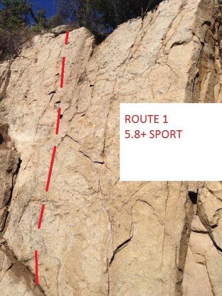 ROUTE 1 5.8+ SPORT