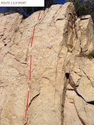Rock Climbing Photo: ROUTE 2 5.9 SPORT