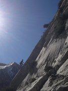 Rock Climbing Photo: Jeff Shurrell 2nd ascent.