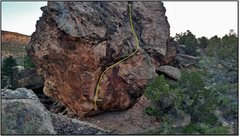 Rock Climbing Photo: Puppy Love beta.